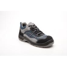 Esportes estilo camurça couro e calçado de segurança de tecido Oxford (HQ05067)