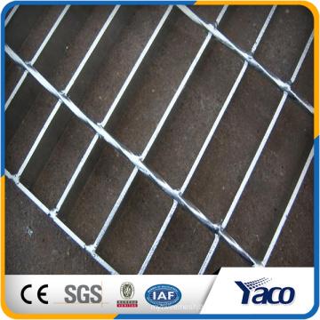 China Hengshui Q235 Q195 325 303 galvanizado estructura de rejilla de acero de la pasarela