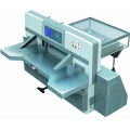 Innovo Touch screen duplo worm roda guia duplo máquina de corte de papel