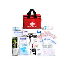 Kit de primeiros socorros para casa do escritório de viagens