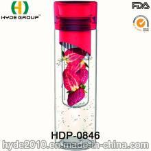 Grossistes fruits infuseur Tritan eau bouteille, flacon de perfusion de gratuite de fruits en plastique BPA (HDP-0846) de 700ml