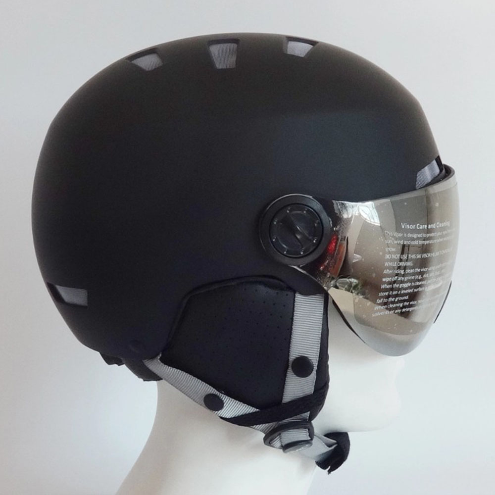 Ski Helmet With Goggle