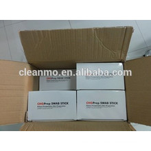 (Hot) CE/ISO certified Manufacturer Patient Injection CHG prep 2% Chlorhexidine Gluconate 70% alcohol medical swabsticks/swabs