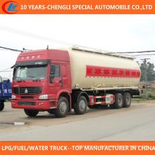 China 12 Rodas 37cbm Chemical Transport Truck para Venda
