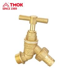 Cuerpo de la válvula es de tamaño de color de latón cuerpo en forma de Y más fácil de usar para el flujo de agua y la boquilla de agua