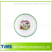 """12 """"Full Decal Pizza Plate (TM0508)"""