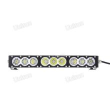 Barra de luz LED de linha única de 17 polegadas 12V 90W CREE
