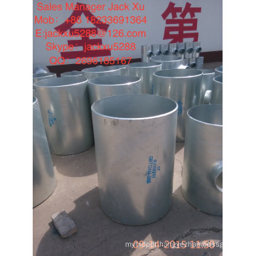 Square Head Code and Flange Type teflon lined carbon steel price list