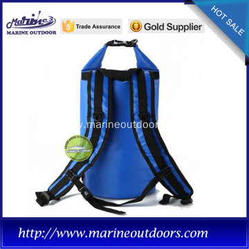 Blue backpack waterproof coller bag for camping