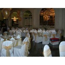 couverture de chaise de banquet pour mariage, CTV583 de la couverture de chaise de polyester, tissu épais 200GSM