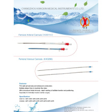Ámpulas femorales para cirugía de corazón