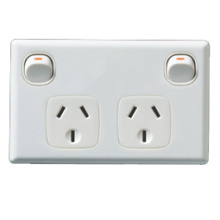 Australian Style Switch Socket (C215)