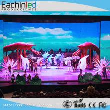 Pantalla LED SMD interior SMD P3.91 en cada uno para una imagen interactiva y música