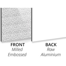 Textured Milled Embossed/Aluminium Aluminium Composite Panel
