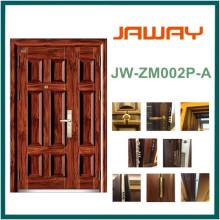 Puerta de seguridad de empalme blindada de acero, puerta de acero de la mejor calidad.