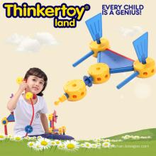 Environmental Plastic Building Blocks for 3-6 Kids