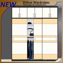 Современный дизайн спальни Раздвижной гардероб