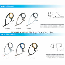 Wholesale Titanium Sic Double Foot Fishing Rod Guide