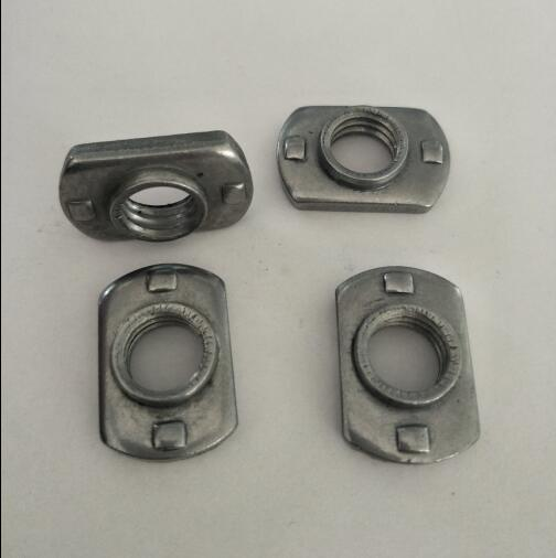 Flat Base Weld Nuts
