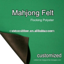 rubber mahjong table mat