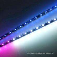 A fase de 12V 24V que ilumina 0.5m 1m 2m 3d dmx rgb conduziu os tubos