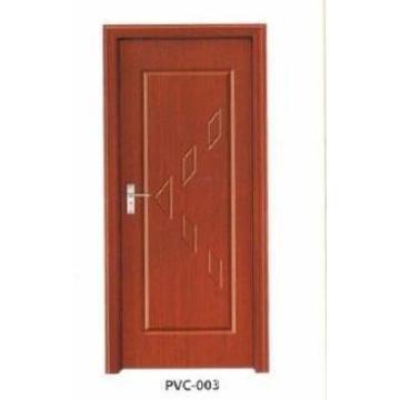 PVC Wooden Door for Kitchen or Bathroom (pd-009)