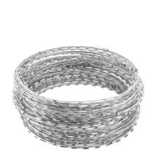 Zoo protective net Tough sharp barbed wire tire barbed wire
