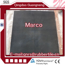 Rubber Sport Tiles Gym Flooring Floor for Gym Playground Anti Slip Rubber Tiles