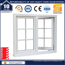 Aluminium Casement Window with Gril