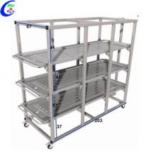 304 Stainless Steel Mortuary Cadaver Storage Rack