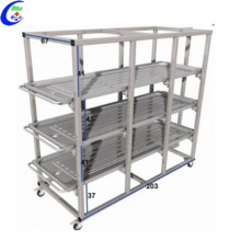 304 Stainless Steel Mortuary Cadaver Storage Rack