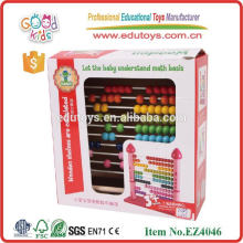 Brinquedos educativos de venda quente brinquedos de contagem de castelo cor-de-rosa