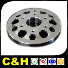 CNC que tritura a parte de metal inoxidável do material SUS303 / 304/201/316