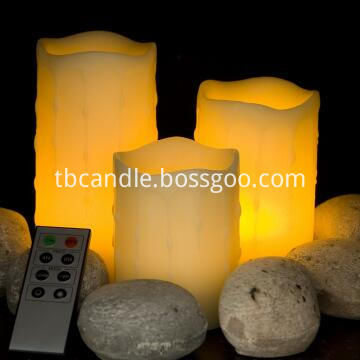 8 key remote contral led candle
