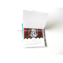 China manufacturer customized dry erase magnetic calendar fridge magnet