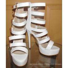 Sandales à talons hauts pour femmes (HCY02-1693)