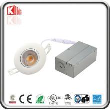 Энергии Звездных угол Регулируемый Утопленный LED мини-светильник с распределительной коробкой