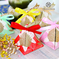 Paper packaging box for wedding candy