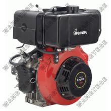 Rückstoß-Elektro Starter-Dieselmotor mit 4-Takt-Einzylinder und 11HP