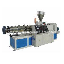 Machines coniques en plastique d'extrudeuse de vis jumelle à haute production