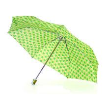 3 Falten kompakte Mini Auto öffnen und schließen Regenschirm (YS-3FD3018R)