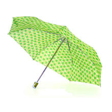 3 Fold Compact Mini Auto Open & Close Umbrella (YS-3FD3018R)