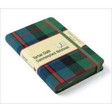 GREEN CLOTH COVER NOTEBOOK-0