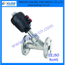 "2"" angle drain valve, plastic actuator, KLJZF-50F, CE,ISO supported"