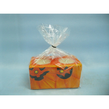 Halloween Candle Shape Ceramic Crafts (LOE2369-11.5z)