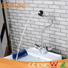 Robinet d'eau thermostatique de robinet de bassin de ressort Qh0207A