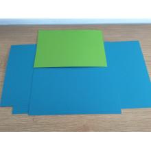 Rouleaux en aluminium de revêtement de couleur turquoise