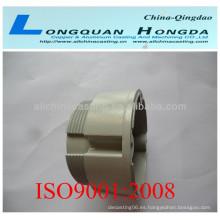 Fundición de ventiladores de aluminio OEM, fundición de aluminio de piezas de ventilador