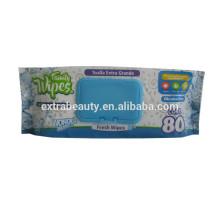 Органические гипоаллергенные детские влажные салфетки под частной торговой маркой