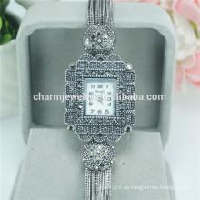 Nuevo reloj de cuarzo de aleación de alta calidad de diseño para las mujeres B033